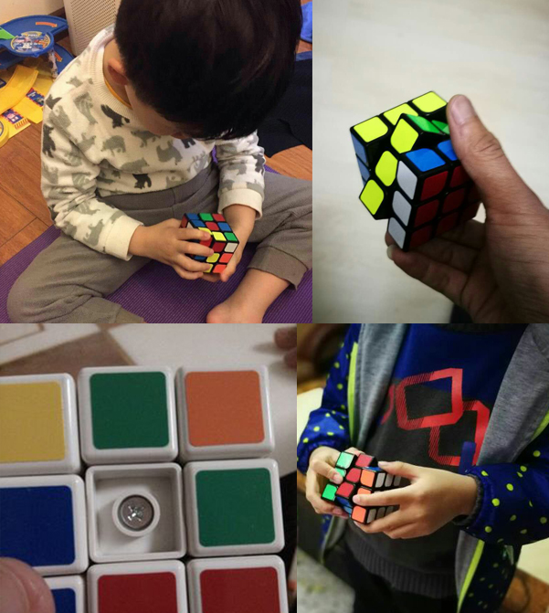 Rubik's Cube 3x3x3 Cube Sticker Block Puzzle Magic Cube Fidgets Speed Rubik Cube Puzzle Magico Classic Toy Gift For Kids XJH074