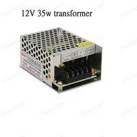 1pcs AC 110V 220V To DC 12V 35W Switch LED Lighting Transformer Small Size Power Supply