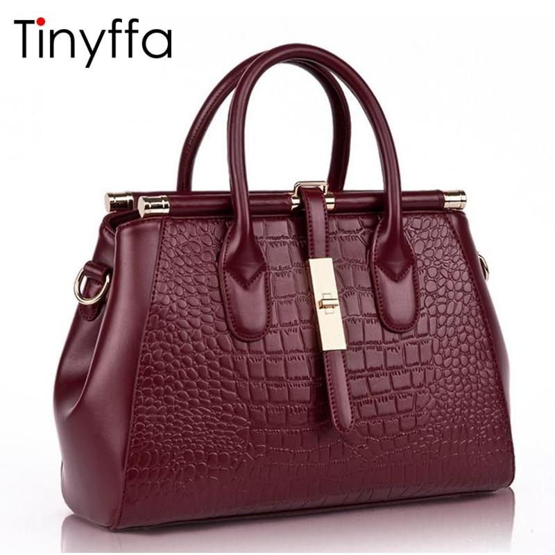 tinyffa genuíno bolsa de couro Exterior : Bolso dos Sedimentos