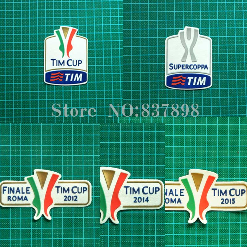 PATCH TOPPA SERIE A 2015 TIM CUP SERIE A 2012 JUVENTUS ROMA MILAN NAPOLI INTER 2014
