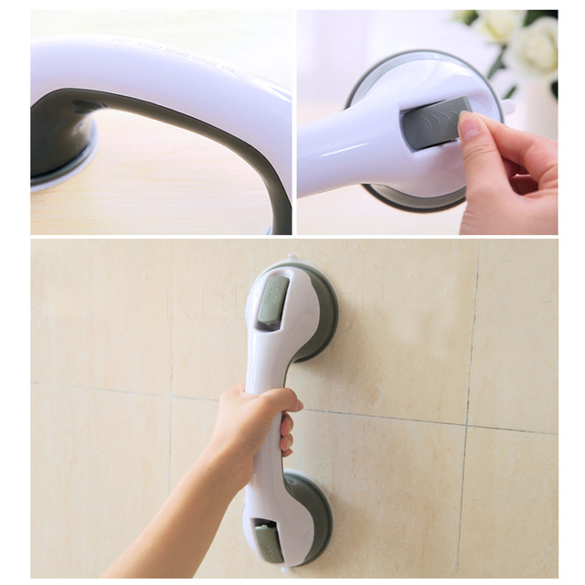Suction Cup Style Handrail Handle Strong Sucker Hand Grip Handrail ...