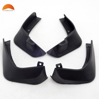 For Nissan Micra March 2010 2012 Abs Mud Flaps Splash Guard Cover Mudguard Car Fenders Splasher