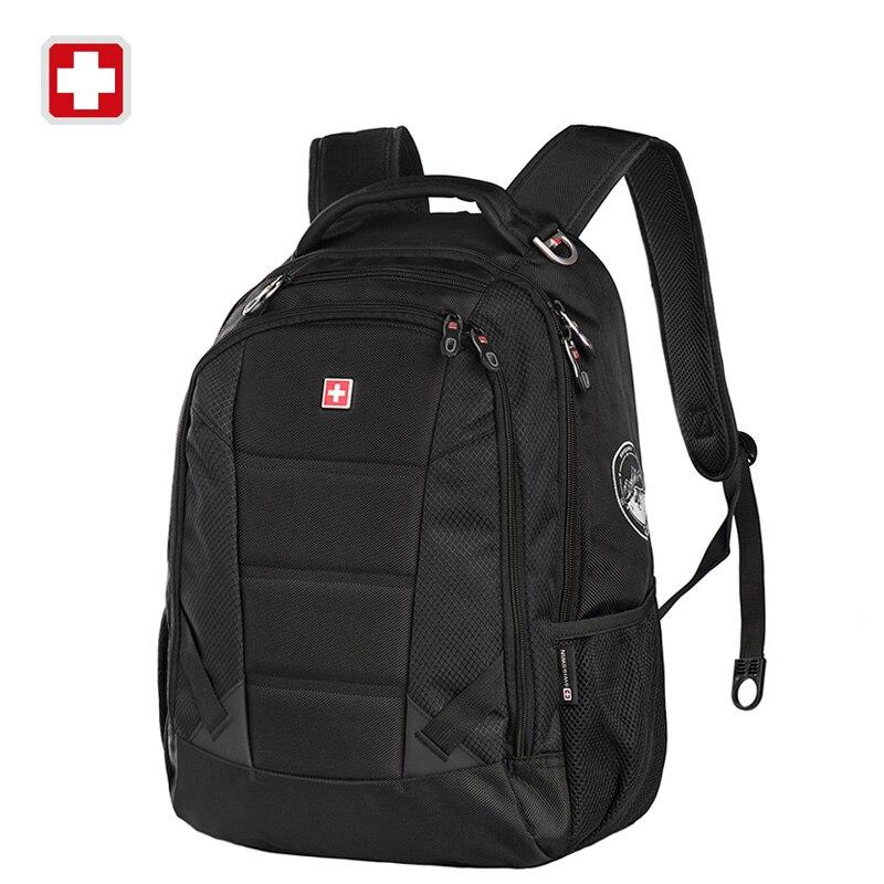 Aliexpress.com : Buy Swisswin fashion men travel bags schoolbag ...