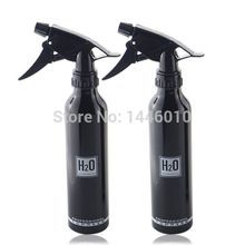 Crazy Tattoo Supply 2PCS Aluminum Spray Bottle Black Spray Bottle Supply For Tattoo Accessories