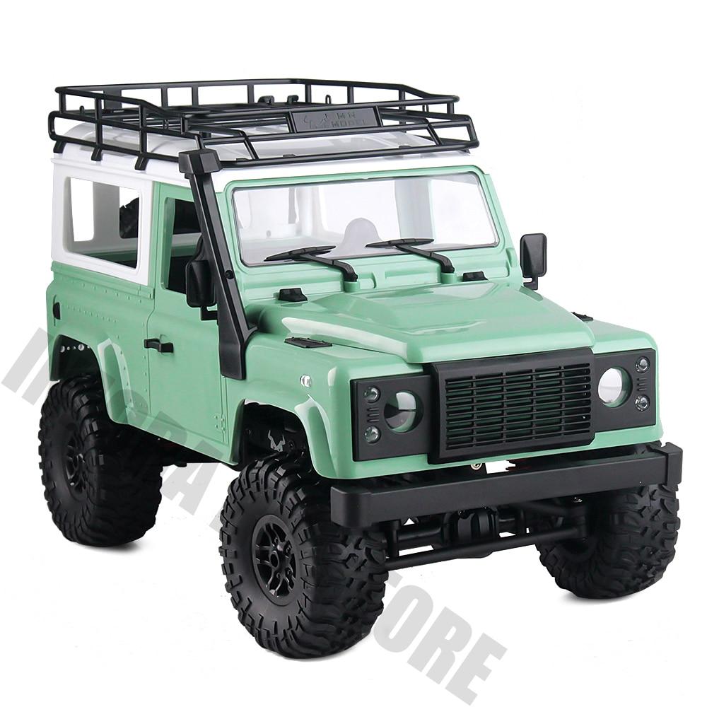1/12 MN modelo RC Rock Crawler D90 MN-90K MN-91K 2,4G 4WD RC coche de Control remoto juguetes de montar Kit defensor camioneta Coche