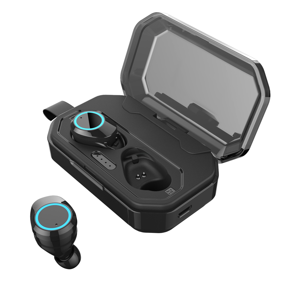X6 TWS Bluetooth 5 0 Earphones Cordless Touch Control Stereo Wireless Earbuds IPX6 Waterproof Sports Headset With Charging Box in Bluetooth Earphones Headphones from Consumer Electronics