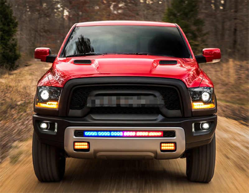 Indicateur de signal de toit de camion, clignotant, barre lumineuse de sécurité, style de voiture barre de led, 12v