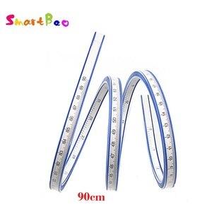 Image 1 - 90 cm Meten Flexibele Curve Heerser Tool voor Crafting Opstellen PatchWork 35 Inch