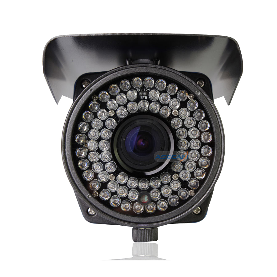 Image 4 - 2MP HD CCTV AHD Camera 1080p Zoom 2.8 12mm Lens Security Varifocal  Bullet Surveillance 78* LED Infrared Outdoor Waterproof-in Surveillance Cameras from Security & Protection