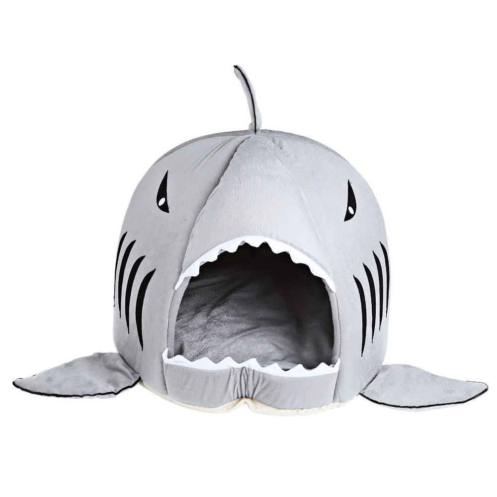 Shark Mouth Shape Pets House Bed For Dog Cat