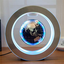 Electric Novelty Round LED Floating Globe Magnetic Levitation Night Light Antigravity ideas Lamp Ball For Children Kids Gifts