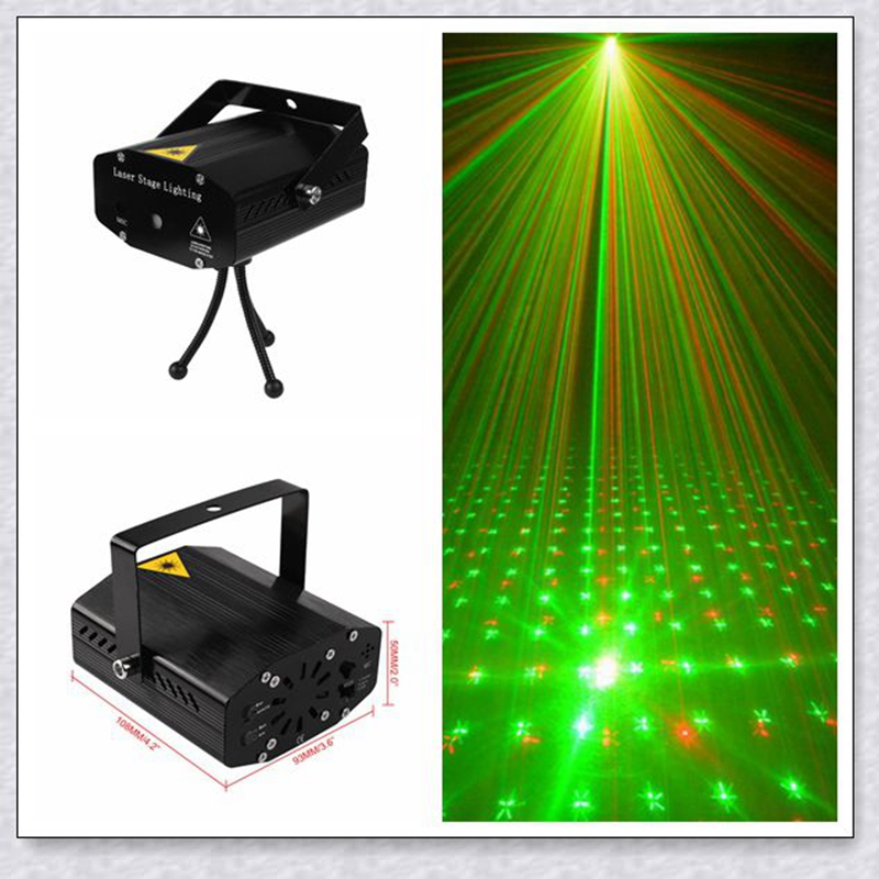 High quality Black New Mini Lazer Pointer Projector light DJ Disco Laser Stage Lighting for Xmas Party Show Club Bar Pub Wedding стоимость