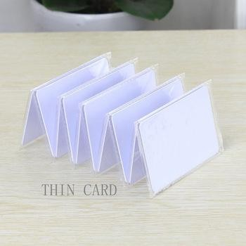 White Thin IC Card 50 Pcs Per Lot For Hotel Locks