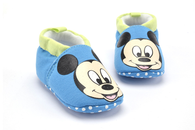 Hot Retail Baby Boys Shoes Infant Cartoon Animal Cartoon First Walker Shoes Newborn Crib Shoes Soft Bottom Prewalkers 0M-18M