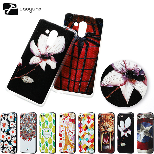 TAOYUNXI Relief  Soft TPU Painted Phone Cases For Acer Liquid Z500 5.0 inch Covers Embossed Bags Back Silicone Case