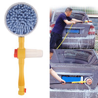 ToHuu Car Wash Brush Portable Retractable 120CM Long Handle Car Clean Brush for Car Household Washing Auto Accessories Universal