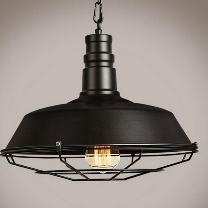 Ceiling Lamp Retro Vintage Pendant Light For Coffee Shop Restaurant Clothes Store