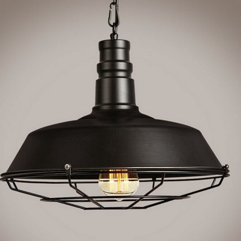 Ceiling Lamp Retro Vintage Pendant Light For Coffee Shop Restaurant Clothes Store