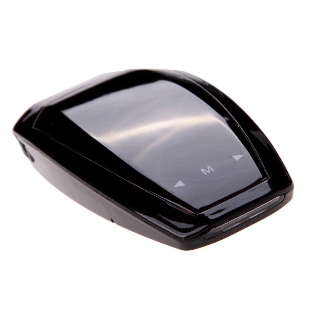 Meilleur détecteur de voiture Radar 12 v LED affichage. conduite en toute sécurité/éviter Laser détecteur Anti-Radar anglais voix russe