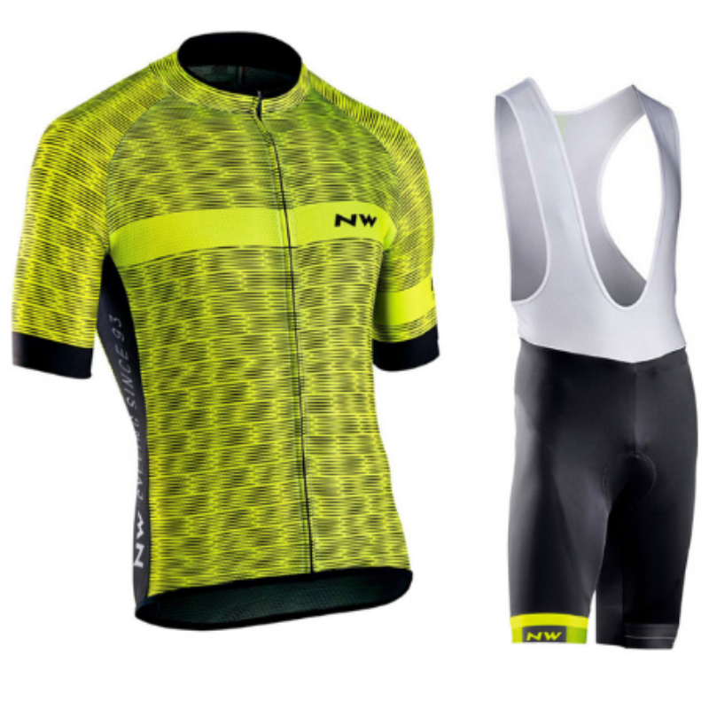 2018 NEW! NW Cycling Jersey Short Jersey Ropa De Ciclismo Maillot Cycling Clothes Set Bike Wear Gel Pad Breathable цена