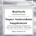 Súper Antioxidante Suplemento con Acai, granada, mangostán, Goji, Noni y Bayas Hierbas Cápsula de 500 mg x 180 unids envío gratis
