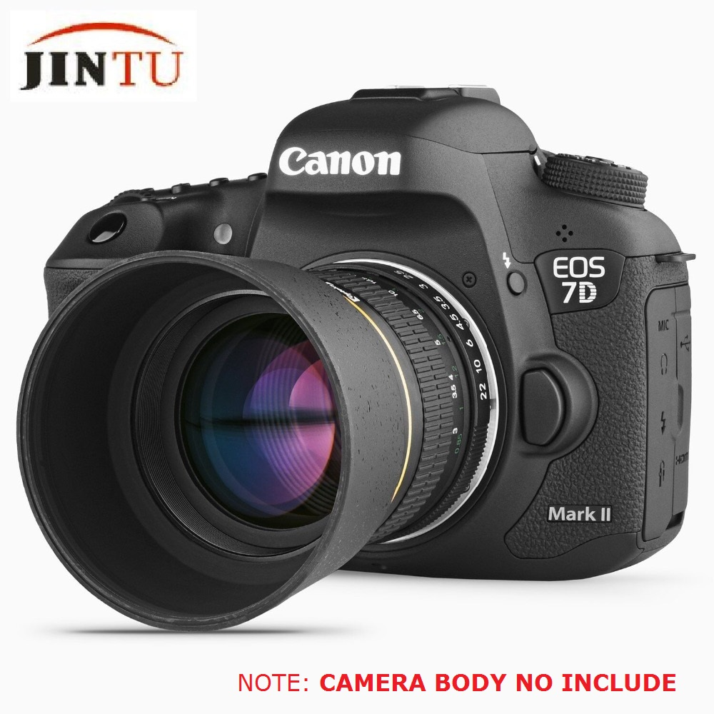 JINTU 85mm F/1.8 Portrait Manual Focus Telephoto Lens For Nikon D7200 D7100 D7500 D5600 D5500 D5300 D5200 D5100 D3400 D3300 D850