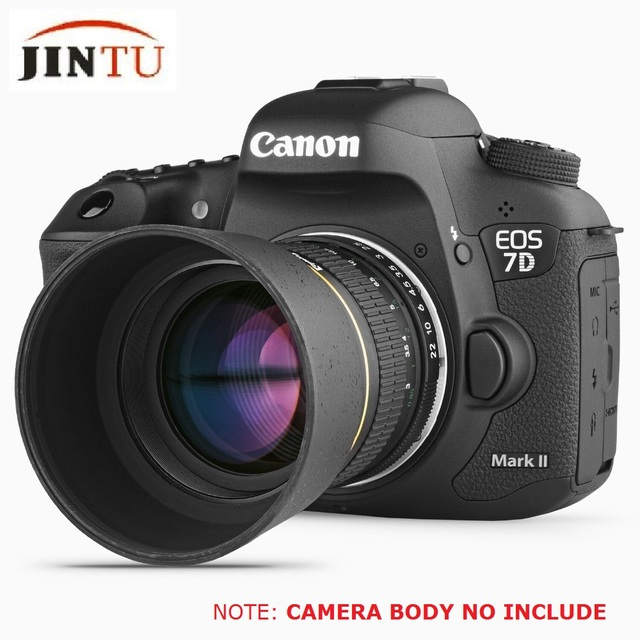 jintu 85mm f/1.8 portrait manual focus telephoto lens for nikon