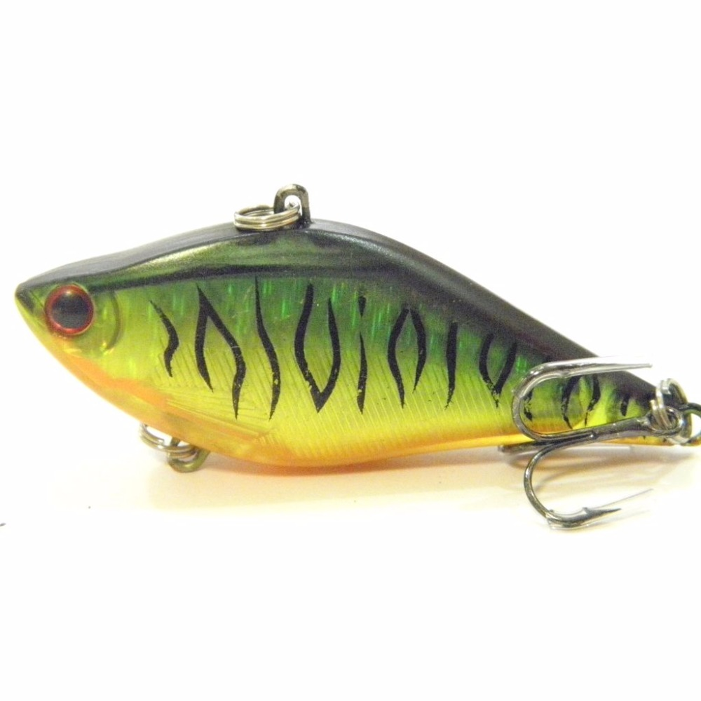Köder, Futtermittel & Fliegen wLure 2 1/3inch 1/2oz Lipless Sinking RealSkin Long Cast Fishing Hard Lure HL697