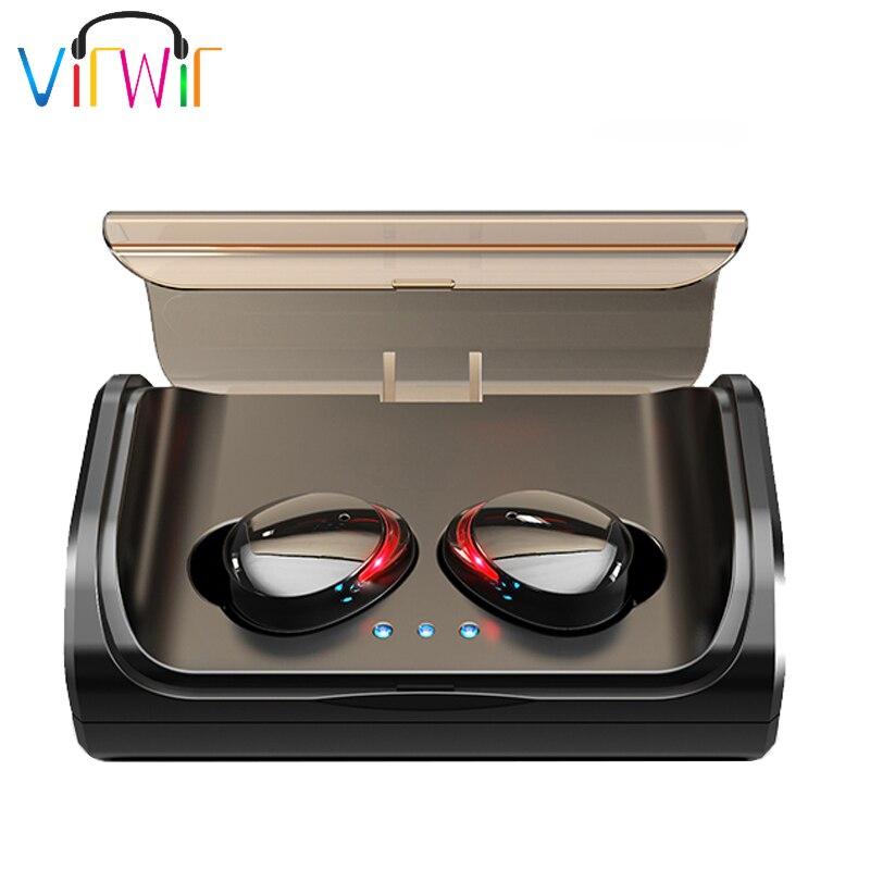 TWS T8 Bluetooth 5 0 True Wireless Earphones In Ear Earbuds Noise reduction IPX6 Waterproof Sports