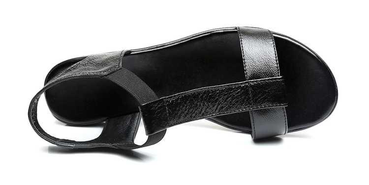 GKTINOO/босоножки из натуральной кожи; женские босоножки на плоской подошве; модная летняя обувь; женские босоножки; сезон лето; Бесплатная доставка; большие размеры 35-43