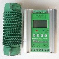1400 MPPT Ветер солнечный гибридный Boost Контроллер заряда 12 в 24 В Применить для 600 Вт 800 вт ветровой турбины Генератор + 400 Вт 600 Вт солнечные панели