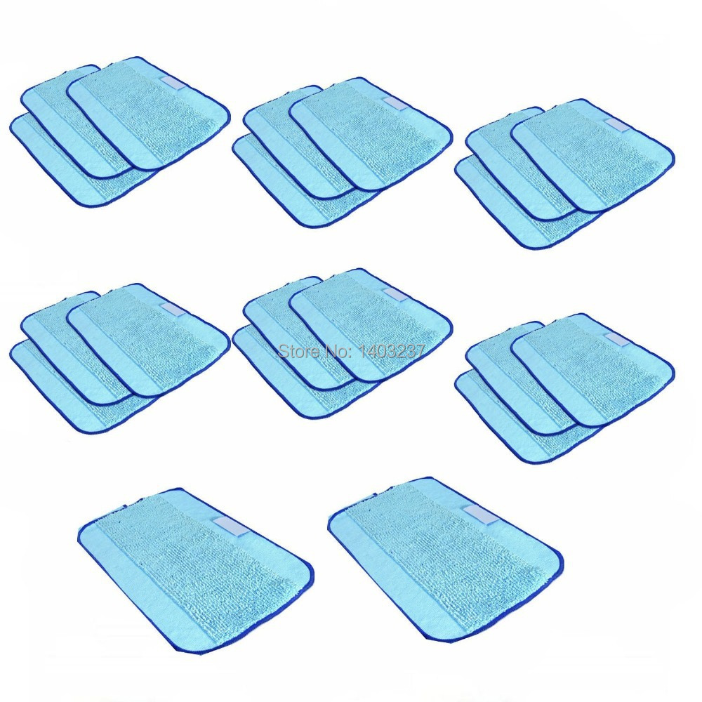 20-Pack Microfiber Cleaning ,Pro-Clean Mopping Cloths for Braava Floor Mopping Robot 380 380T 320 Mint 4200 4205 5200 5200C