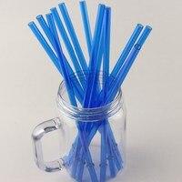Многоразовые Пластик толстые Трубочки BPA бесплатно Лидер продаж высокое качество Пластик сок, кофе и молока соломы (набор из 50)