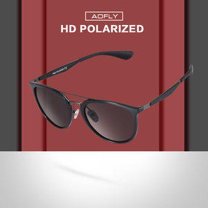 Image 2 - AOFLY ماركة تصميم كلاسيكي الاستقطاب النظارات الشمسية الرجال خمر القيادة النظارات الشمسية النساء UV400 Oculos Masculino AF8116