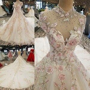Image 5 - LS00317 dantel çiçekler lüks abiye 2020 vestido de festa vestidos de fiesta largos elegantes de gala robe longue abiye