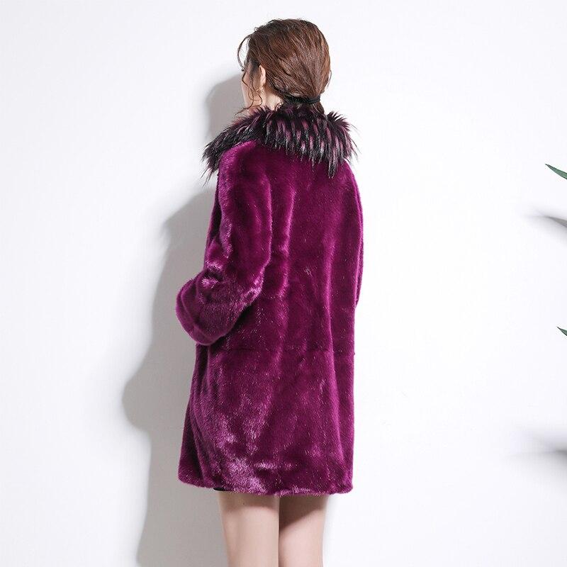 Vestes Hiver Faux 7xl De Red 5xl Femmes Plus Taille Manches Chaud Manteau Longues Fluffy La Vison Furry 2018 À Nerazzurri 6xl Outwear Fourrure Rose Tpq1xn50nw