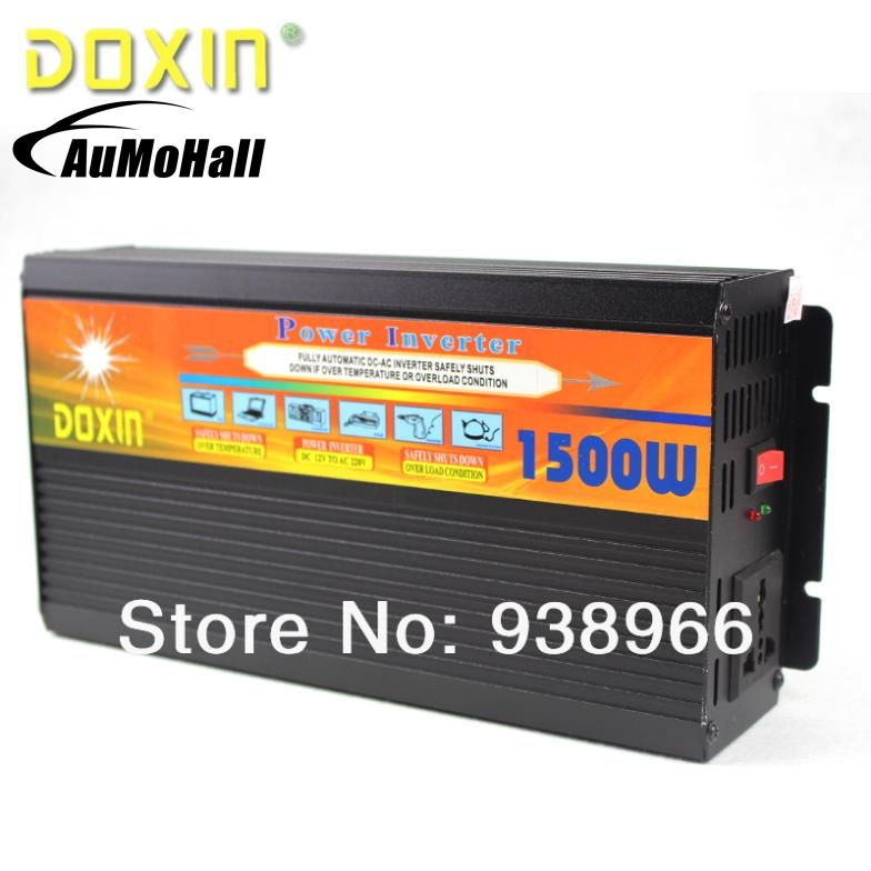 1500W DC 12V to AC 220V Car Car Power Inverter Inversor Universal ST-N050