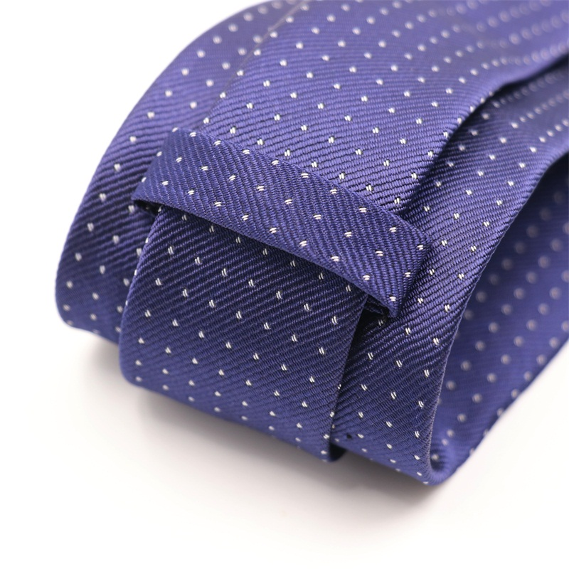Mantieqingway Brand Fashion Dot Tie 8cm Wide Formal Plaid Neckties for Men Business Causal Party Cheap Male Gravatas Wholesale