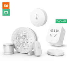 Original Xiaomi Smart Home Kit Gateway Door Window Sensor Human Body Sensor Wireless Switch Multifunctional Smart Devices Sets