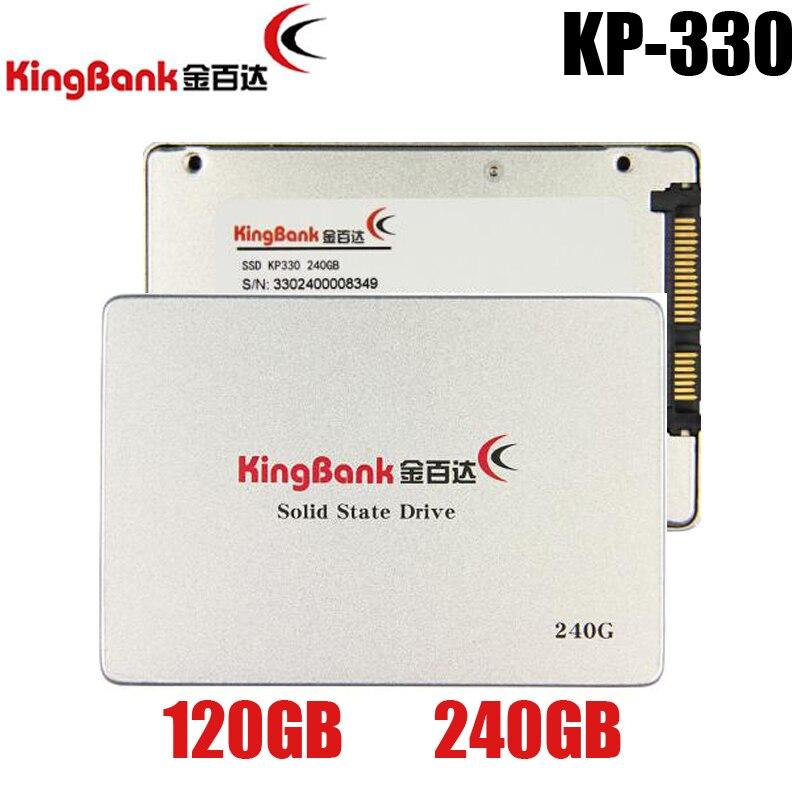 KingBank KP-330 60 GB 60G 120 GB 120G 240 GB 240G 2.5 SATA3 SSD PC Desktop Laptop Dribe Servidor 2.5 de Estado Sólido Interno SSD