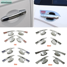 abs car styling accessories External Door handle bowl trim cup hub cover Fit for lifan marveii myway 2016 2017 2018 Accessories inokim myway