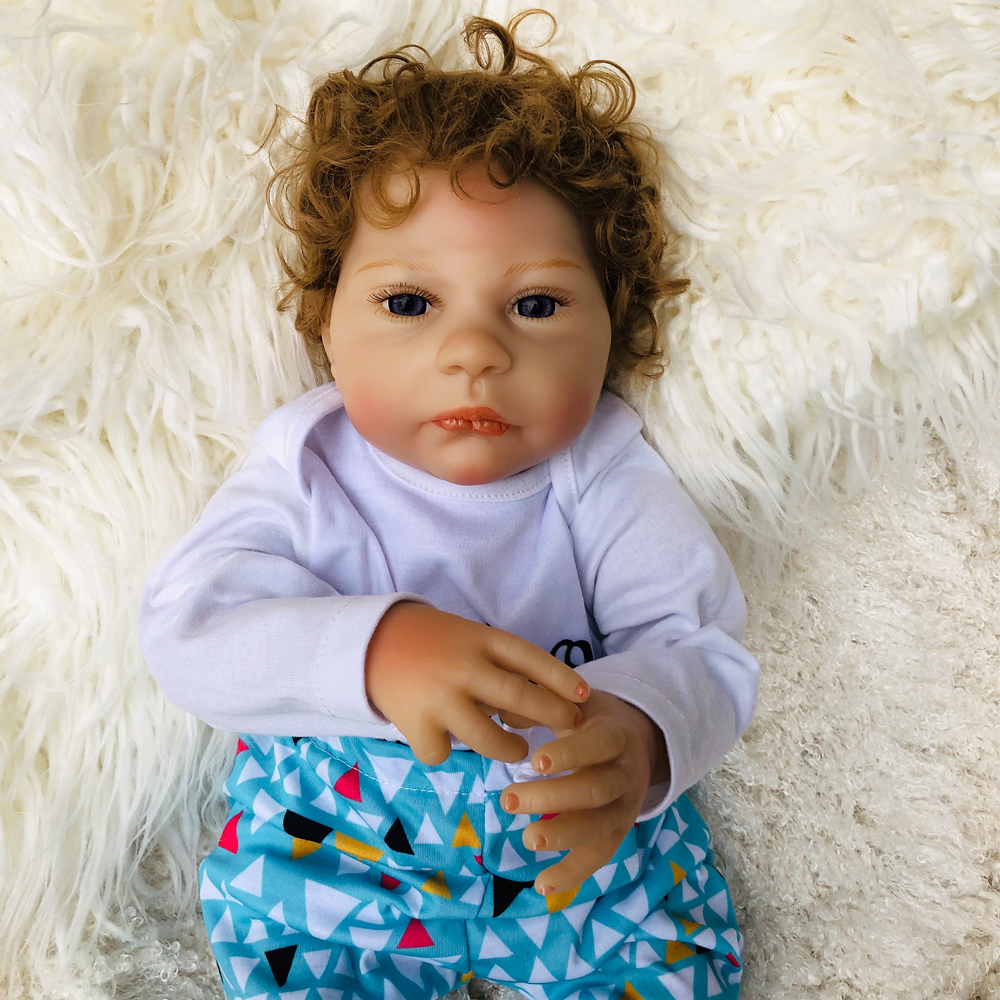 45cm Soft Silicone Reborn babies Dolls lol toys Realistic collectible doll Lifelike Baby Alive Dolls Kids Playmate kids toys 45cm Soft Silicone Reborn babies Dolls lol toys Realistic collectible doll Lifelike Baby Alive Dolls Kids Playmate kids toys