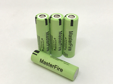 MasterFire 100% Original NCR18650BM 3.7V 3200mAh Rechargeable 18650 Battery Li-ion Batteries high drain 10A Discharge
