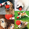 HOOPET Dog Toy Rubber Ball Bite-resistant Dogs Puppy Teddy Pitbull Pet Supplies 5
