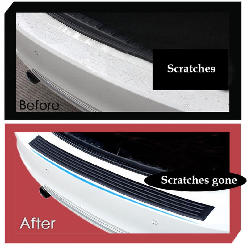 Image 5 - Car trunk rear bumper protection sticker FOR ford mondeo opel vectra c seat ibiza 6l renault megane seat leon 1 for suzuki-in Car Tax Disc Holders from Automobiles & Motorcycles