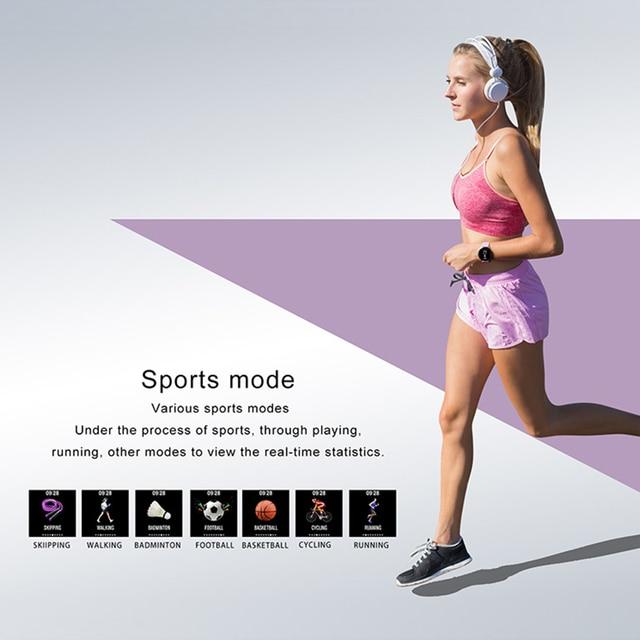 Waterproof Tempered glass Activity Fitness tracker Men Women Smartwatch 3