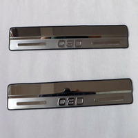 Volvo C30 Car Trim Door Sill Scuff Plates Stainless Steel Door Sill Strip C30 Welcome Pedal