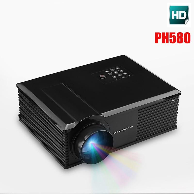 PH580 Full HD de cine en casa proyector 1080 P * 800 P multimedia proyector LCD