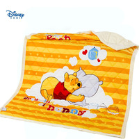 unique design winnie the pooh 3d print summer quilt 100% cotton cover striped blanket beedspread single full twin queen size kid