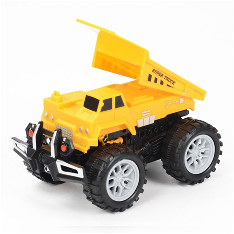 Great Quality New 1:3 Funny Engineering Vehicle Model Wheel Diecast For Kids Car Toys For Children Plastic Truck Drop Shipping